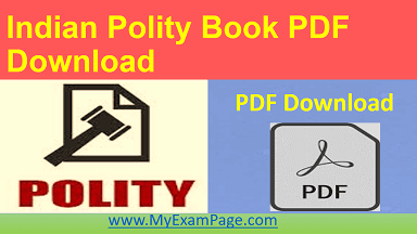 Indian Polity Book PDF Download